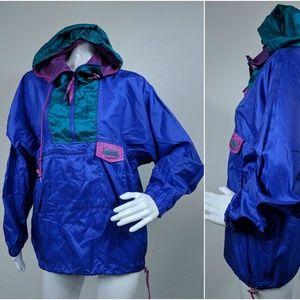 VTG Columbia Sportswear Windbreaker Rain Jacket M